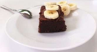 ultra fondant au chocolat banane