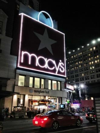 Visiter New York Shopping macy's