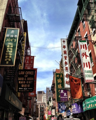 Visiter New York Chinatown
