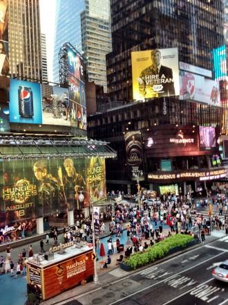 Visiter New York Time Square