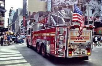 Visiter New York pompiers