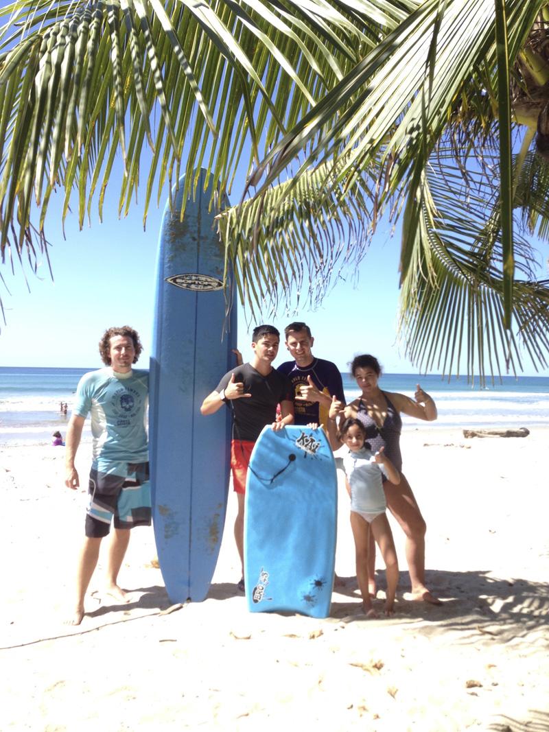 Visiter le Costa Rica Surf à Mal Païs