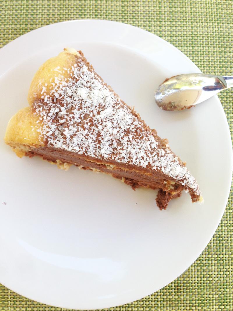 Charlotte Chocolat Noix de coco
