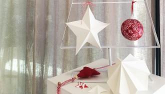 diy étoile origami déco noel