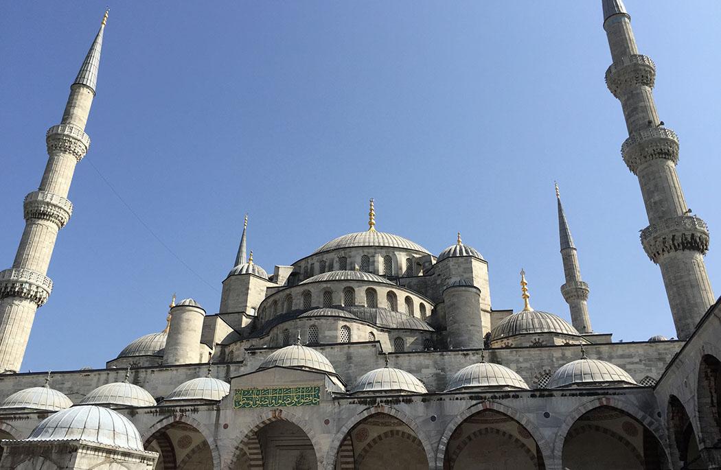 Istanbul Mosquée Bleue